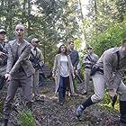 Nimrat Kaur, Josh Helman, Tom Stevens, and Kacey Rohl in Wayward Pines (2015)