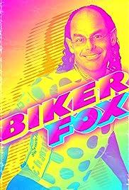 Biker Fox Poster