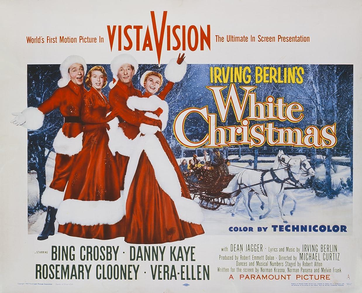 white christmas 1954 - Bing Crosby White Christmas Album