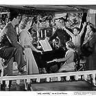 Greer Garson, Richard Ney, Walter Pidgeon, Clare Sandars, Christopher Severn, and Teresa Wright in Mrs. Miniver (1942)