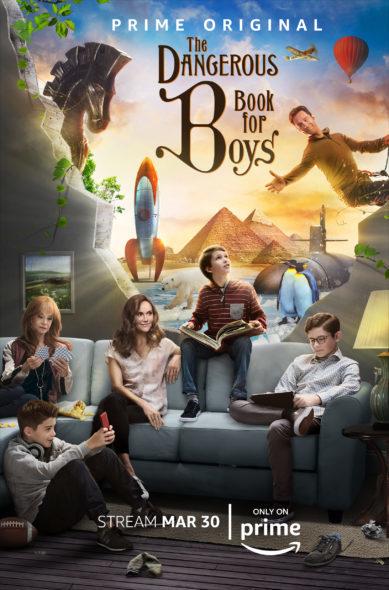 Download The Dangerous Book for Boys (Season 1) Dual Audio (Hindi-English) 720p [150MB]