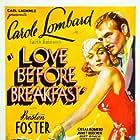 Carole Lombard, Cesar Romero, and Preston Foster in Love Before Breakfast (1936)