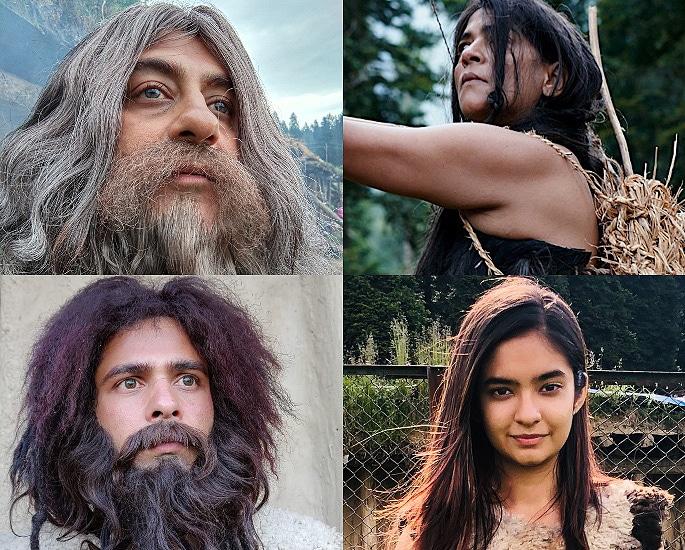 Pradhuman Singh, Anushka Sen, Jitendra Rai, and Namita Lal in Country of Blind (2019)