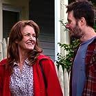 Josh Hamilton and Melissa Leo in Bottled Up (2013)