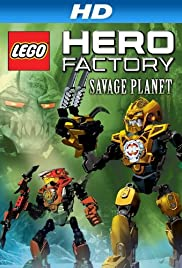 Lego Hero Factory: Savage Planet Poster