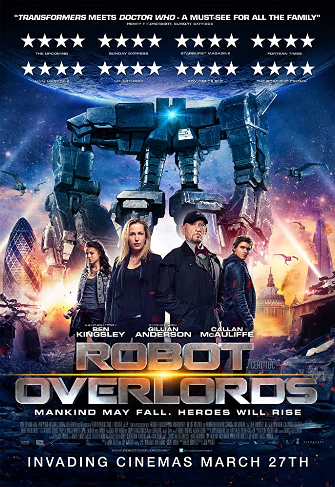 Robot Overlords 2014 Dual Audio Hindi 250MB BluRay 480p x264 ESubs