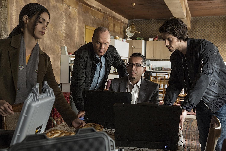 Michael Keaton, Shiva Negar, and Dylan O'Brien in American Assassin (2017)