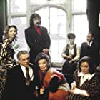 Katharine Hepburn, Joseph Cotten, Lee Remick, Kate Reid, Paul Scofield, Edward Albee, and Betsy Blair in A Delicate Balance (1973)