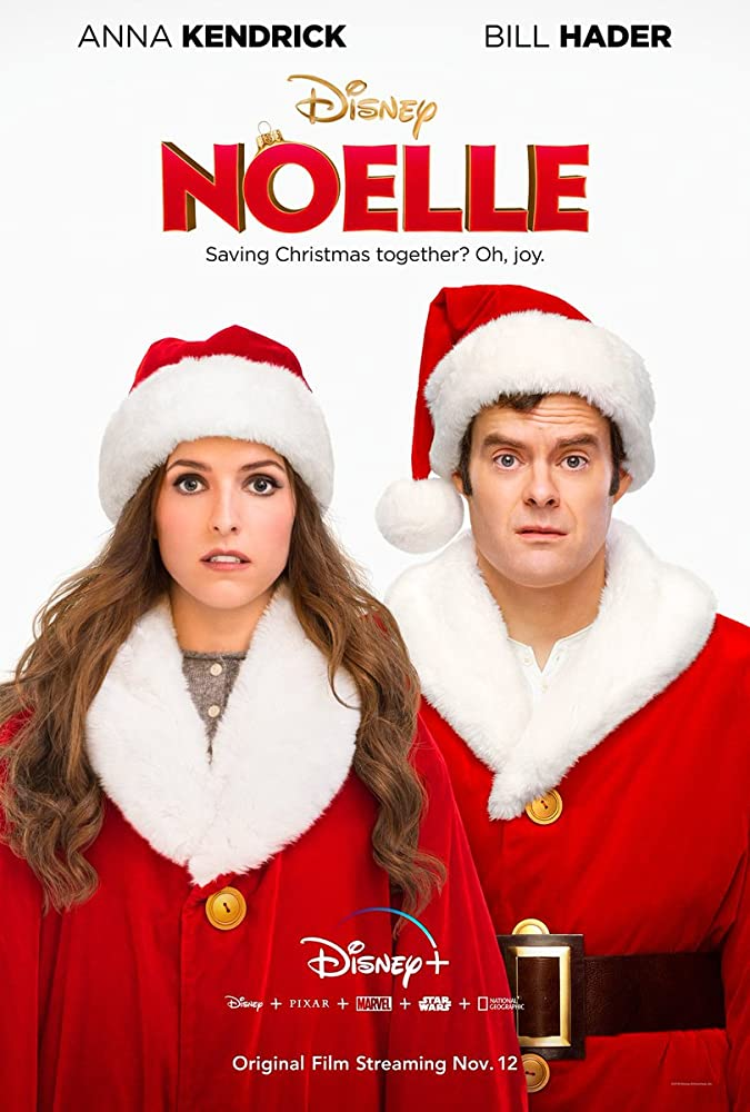 Bill Hader and Anna Kendrick in Noelle (2019)