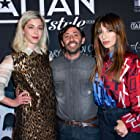 Sabrina Impacciatore, Annabelle Attanasio, and Marcello Fonte at an event for Dogman (2018)