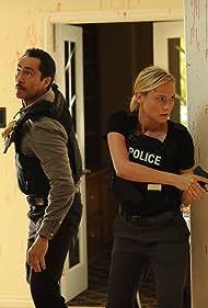 Demián Bichir and Diane Kruger in The Bridge (2013)