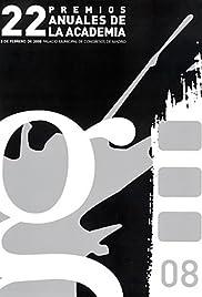 XXII Premios Anuales de la Academia Poster