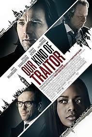 Ewan McGregor, Stellan Skarsgård, Naomie Harris, and Damian Lewis in Our Kind of Traitor (2016)
