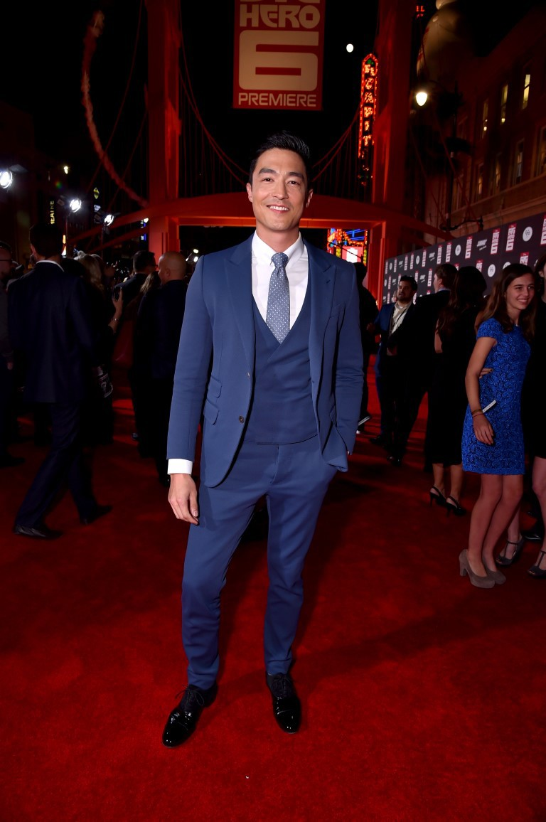 Daniel Henney at an event for Big Hero 6 (2014)