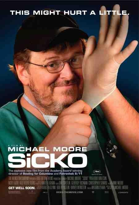 映画『SiCKO』ポスター