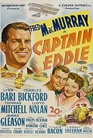 Lynn Bari and Fred MacMurray in Captain Eddie (1945)