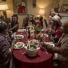 Michael X. Sommers, Freema Agyeman, Maximilienne Ewalt, Rhonnie Washington, L. Trey Wilson, Jamie Clayton, and Michael Willis in Sense8 (2015)
