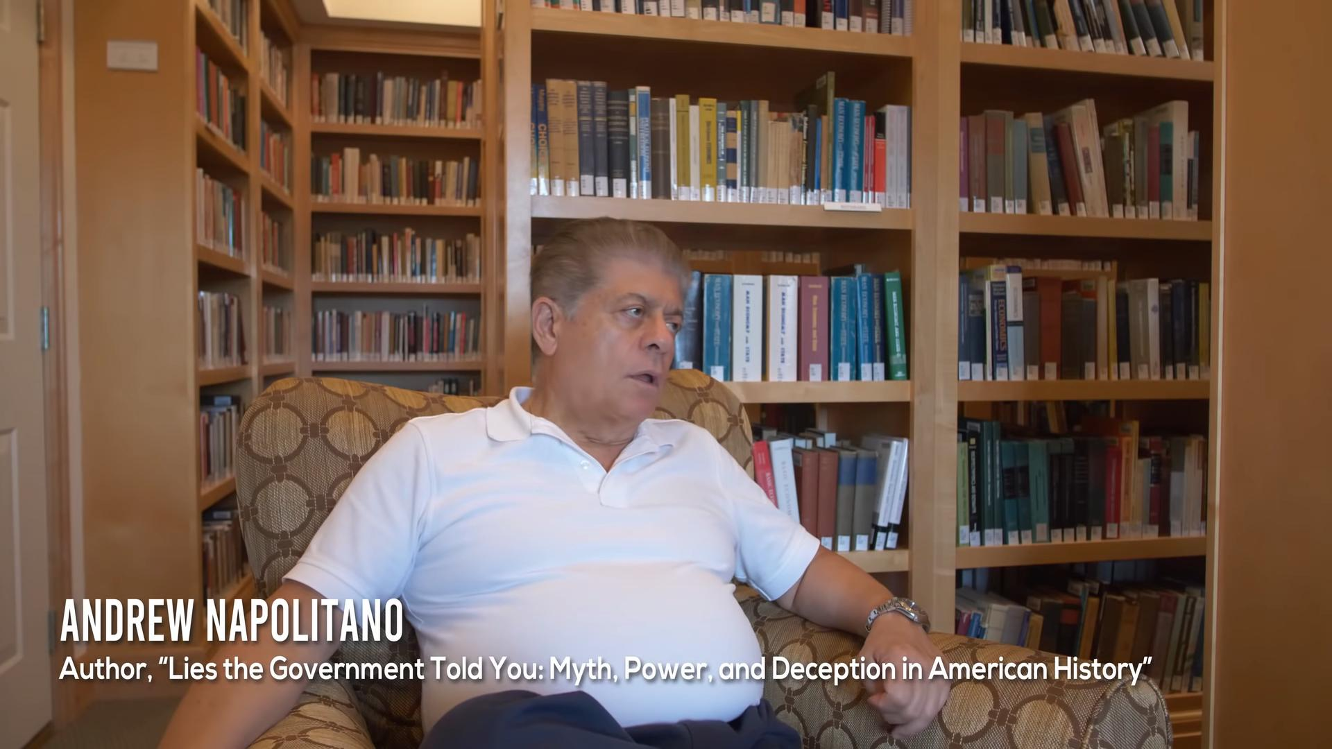 Andrew Napolitano in The Monopoly on Violence (2020)