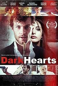 Kyle Schmid, Lucas Till, and Sonja Kinski in Dark Hearts (2014)