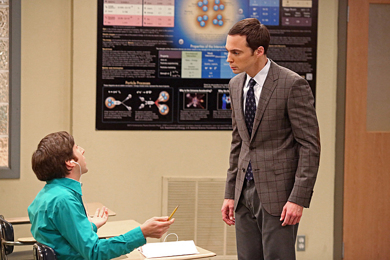 Simon Helberg and Jim Parsons in The Big Bang Theory (2007)