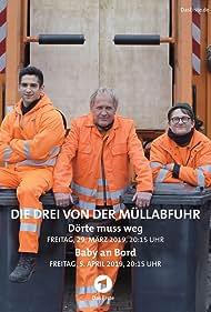 Uwe Ochsenknecht, Jörn Hentschel, and Daniel Rodic in Die Drei von der Müllabfuhr (2019)