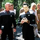 Brent Spiner and Patrick Stewart in Star Trek: Insurrection (1998)