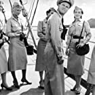 Jack Lemmon, Mimi Doyle, Maura Murphy, Jeanne Murray, Kathleen O'Malley, Betsy Palmer, and Lonnie Pierce in Mister Roberts (1955)