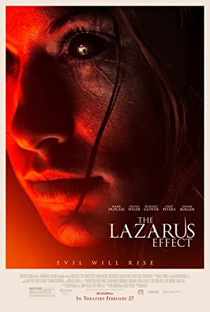 poster for The Lazarus Effect