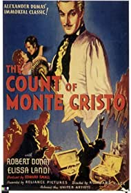 Robert Donat and Elissa Landi in The Count of Monte Cristo (1934)