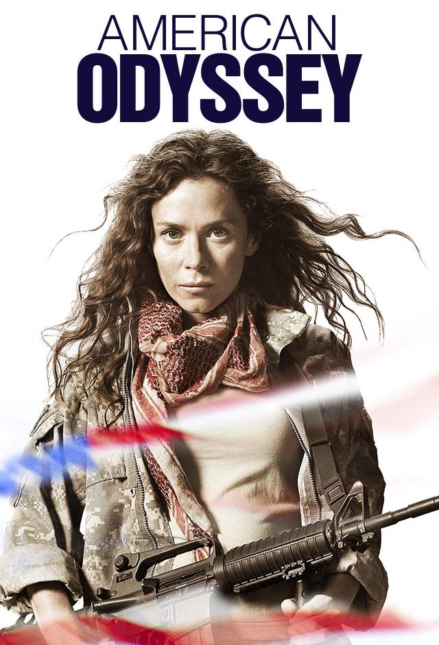 Anna Friel in American Odyssey (2015)