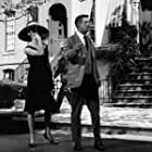 Audrey Hepburn and George Peppard in Breakfast at Tiffany's (1961)