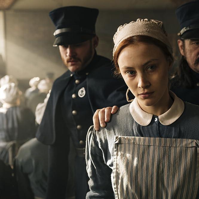 Sarah Gadon, Jonathan Koensgen, and John Tench in Alias Grace (2017)