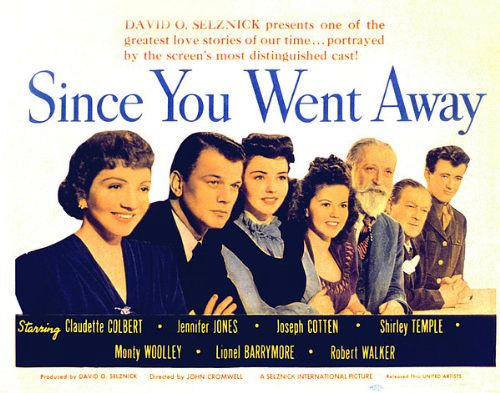 Image result for since you went away 1944 opening credits