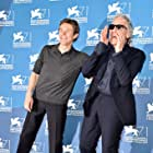 Willem Dafoe and Abel Ferrara at an event for Pasolini (2014)