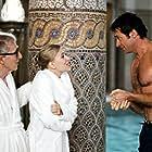 Woody Allen, Hugh Jackman, and Scarlett Johansson in Scoop (2006)