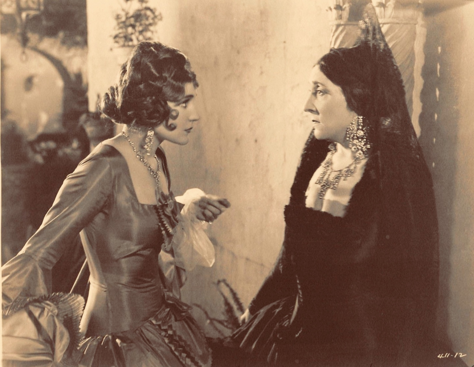 Emily Fitzroy and Jane Winton in The Bridge of San Luis Rey (1929)