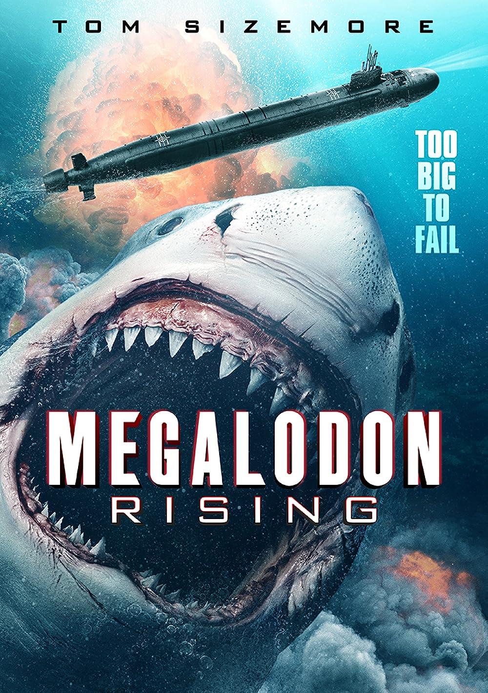 Megalodon Rising (2021) English HDRip 350MB Download
