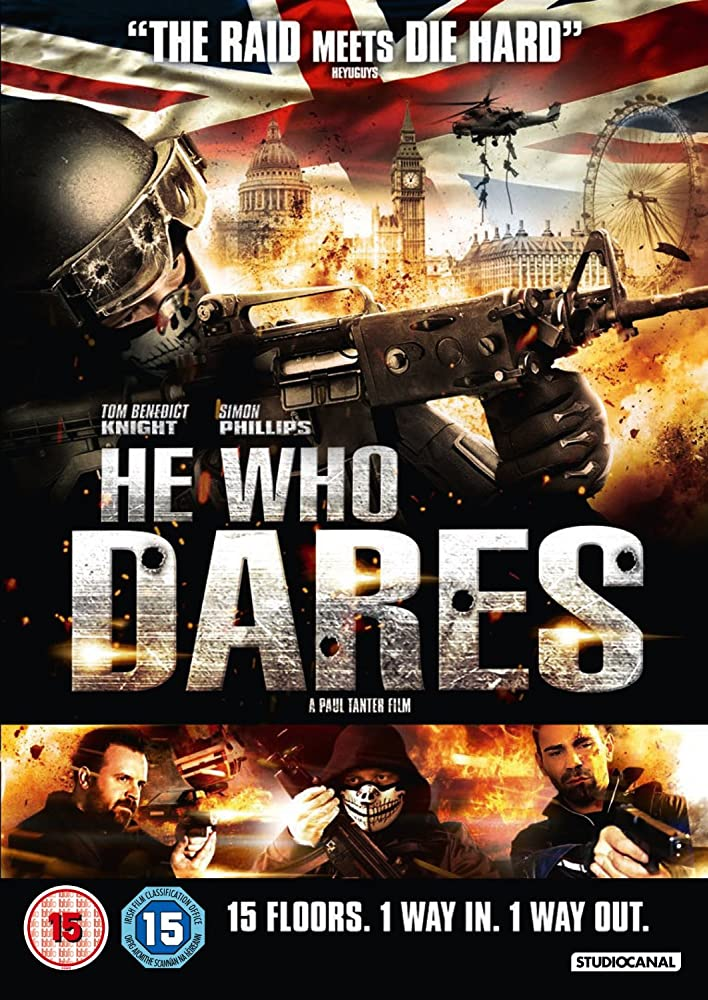 Poster film He Who Dares (2014)
