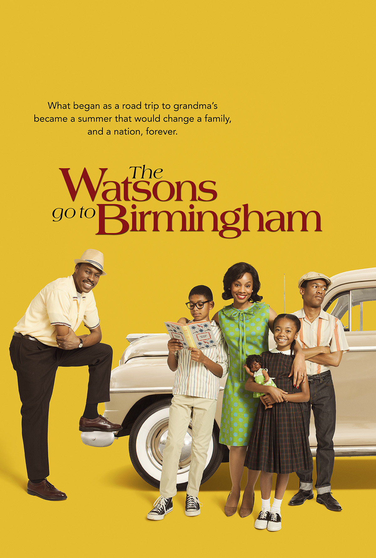 David Alan Grier, Lori Beth Sikes, Wood Harris, Javon Johnson, E. Roger Mitchell, Margo Moorer, Pauletta Washington, LaTanya Richardson Jackson, Anika Noni Rose, Harrison Knight, Skai Jackson, Josephine Lawrence, Bryce Clyde Jenkins, Tyrin Niles, Shameik Moore, and Bailey Tippen in The Watsons Go to Birmingham (2013)