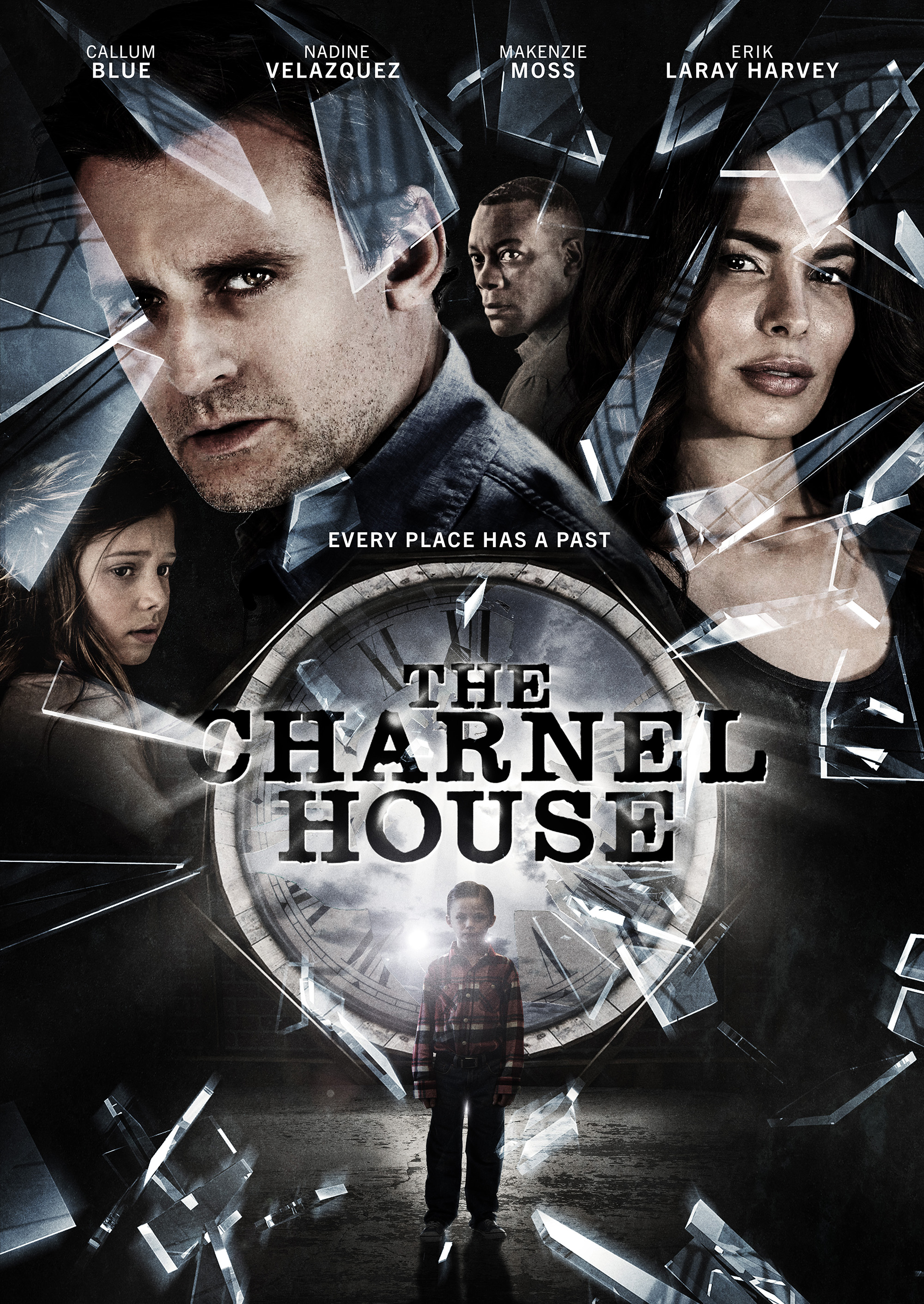 Callum Blue, Erik LaRay Harvey, Nadine Velazquez, and Makenzie Moss in The Charnel House (2016)