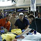Luis Guzmán, Harry Ford, and Emily Tyra in Code Black (2015)