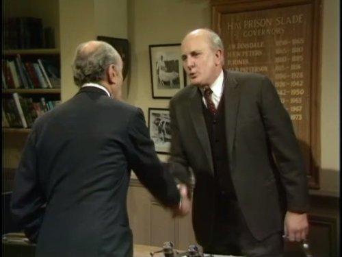 Michael Barrington and Maurice Denham in Porridge (1974)
