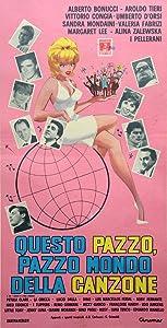 Dvd movie downloads Questo pazzo, pazzo mondo della canzone Italy [Mp4]