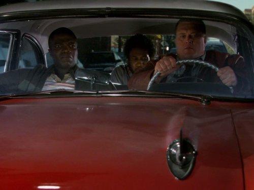 Reno Wilson, Billy Gardell, and Nyambi Nyambi in Mike & Molly (2010)