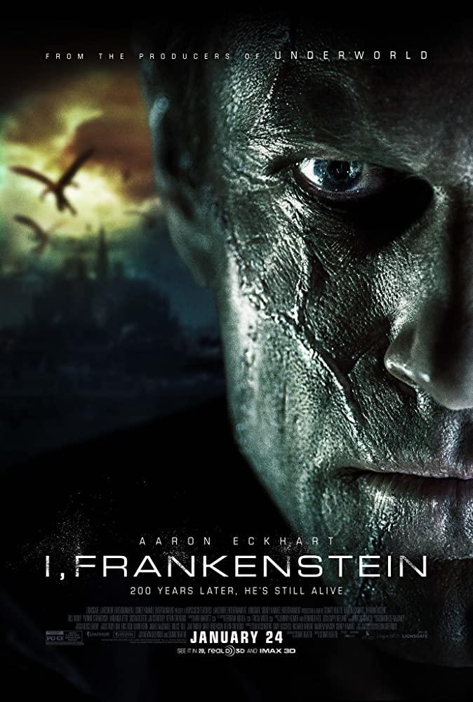 Aaron Eckhart in I, Frankenstein (2014)