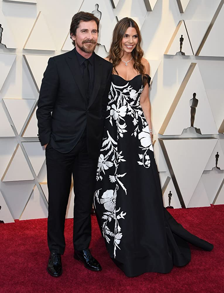 Christian Bale and Sibi Blazic at an event for The Oscars (2019)