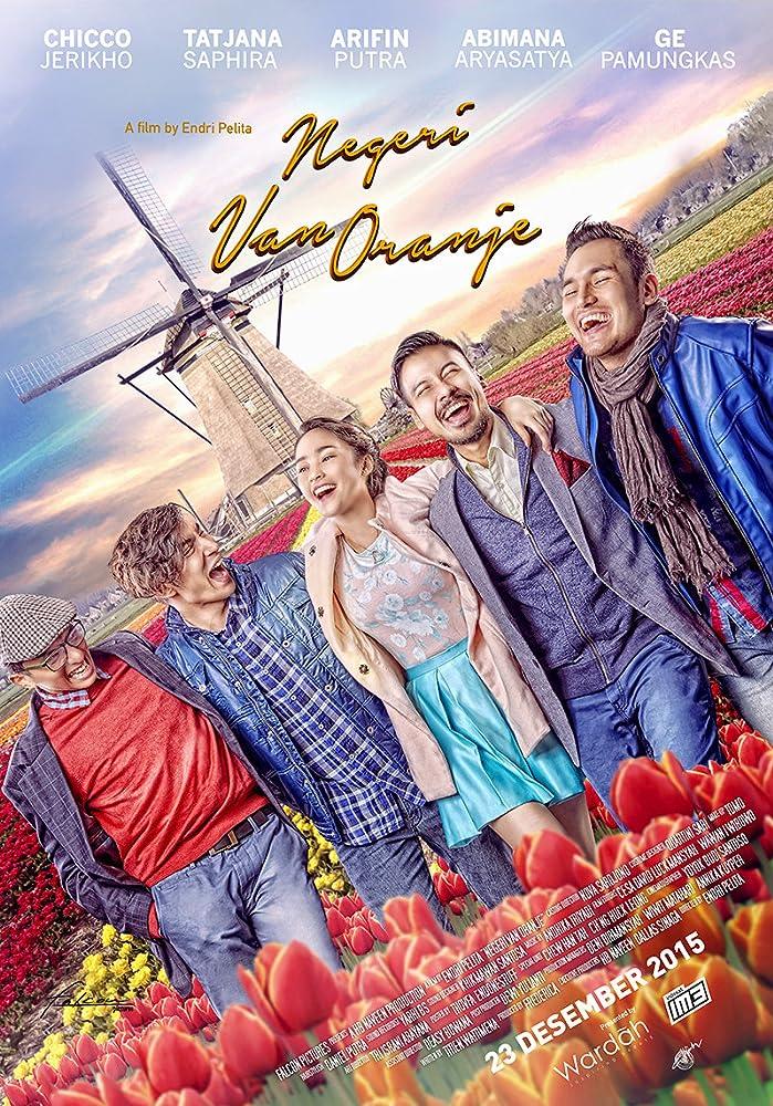 Poster film Neger Van Oranje (2015)