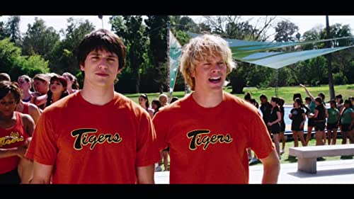 Two high school jocks decide to ditch their annual football training session for cheerleading camp, where they think their ruse will result in plenty of hook-ups.