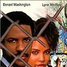 Denzel Washington and Lynn Whitfield in The George McKenna Story (1986)