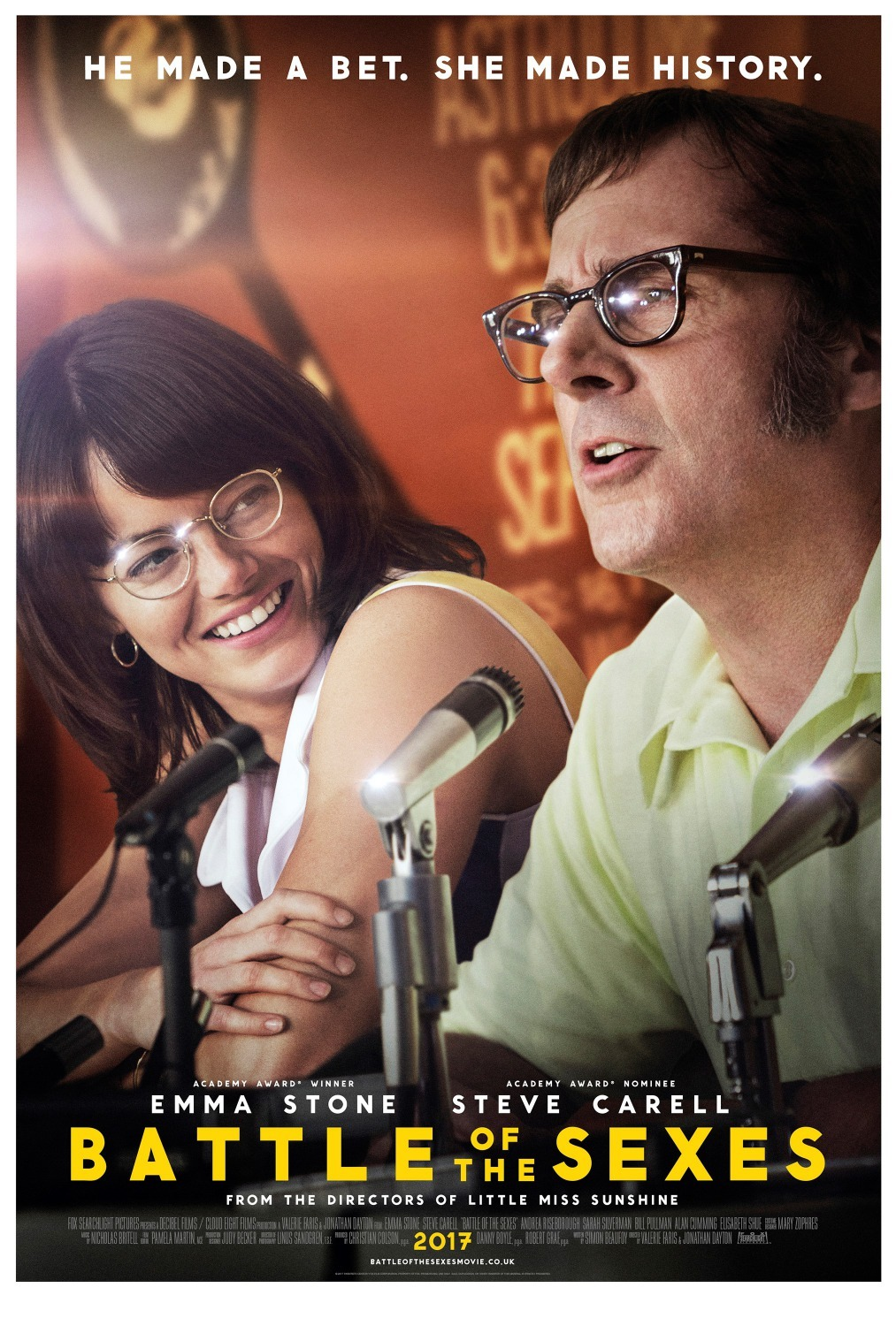 Battle of the Sexes 2017 Hindi Dual Audio 450MB BluRay 480p ESubs Download